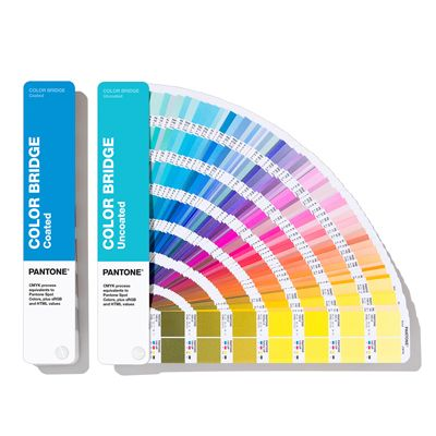 [2019 NEW] PANTONE GP6102A COLOR BRIDGE (Coated & Uncoated)