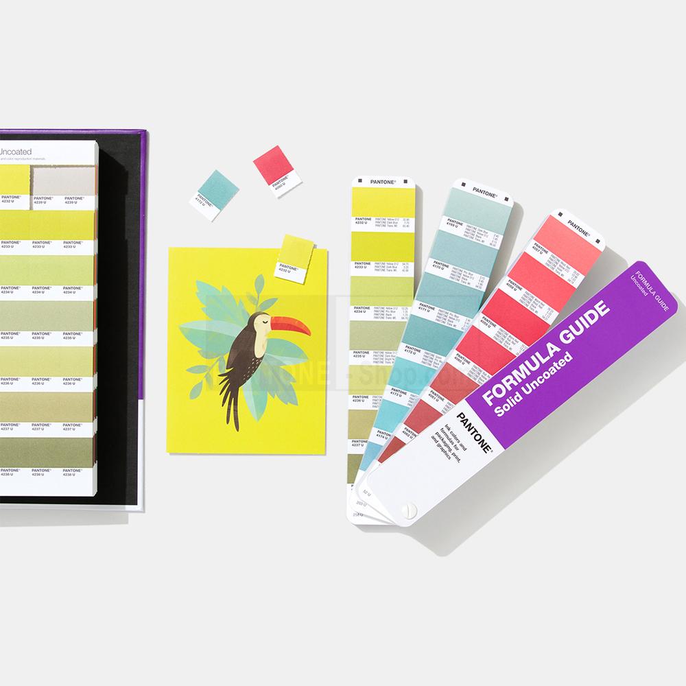 2020 New Pantone Gp1608a Solid Color Set Formula Guides And Chips Set